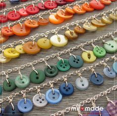 Button Jewelry by Milomade