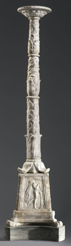 A Marble Candelabrum, Roman Imperial, circa 1st Century A.D. | Lot | Sotheby's