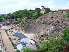 #lyon #amphithéâtre #Fourvière #spectacle #concert #histoire
