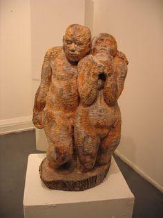 Nicolai Nickson, wood sculpture.