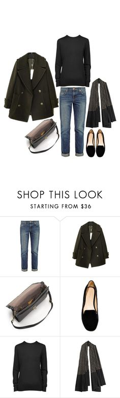 """MINIMAL + CLASSIC: """"Untitled #175"""" by coffeestainedcashmere liked on Polyvore featuring J Brand, J.Crew, Zara, Proenza Schouler and Antik Batik"""