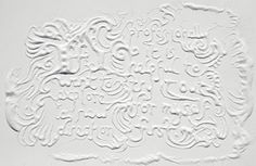 INSANE type pieces by Marian Bantjes. She created them for Stefan Sagmeister. Done free-hand, with sugar. Typography Letters, Typography Design, Hand Lettering, Creative Inspiration, Design Inspiration, Creative Ideas, Stefan Sagmeister, 3d Type, Sugar Art