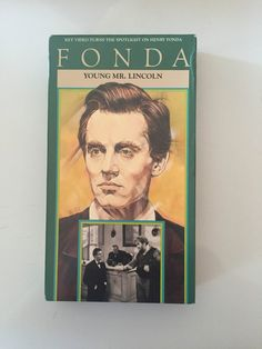 Young Mr. Lincoln Starring Peter Fonda  VHS RARE by MsStreetUrchin