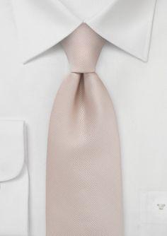 Elegant Golden Tan Mens Tie