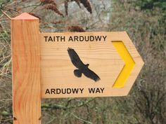 Ardudwy Way Signpost