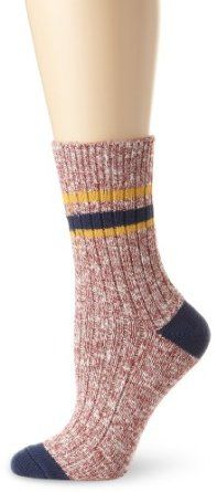 PACT Women's Work Sock, Multi Colored, One Size PACT. $10.49