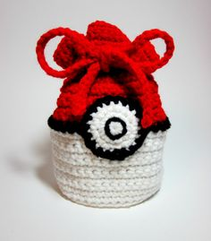 Pokeball Inspired Power Pouch. Pokemon Inspired Game Bag. Magic MTG Card Bag. Gamer Makeup Bag. Nintendo DS Case. Dice Bag.