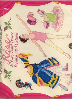 Rose A Ballet Dancer by Susan Beebe