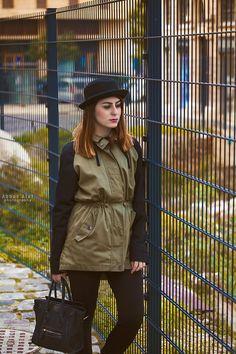 The Military Coat | Blonde Dusk