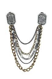 Chunky Chain Collar Tips