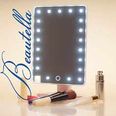 Portable Vanity Mirror With Lights Awesome Amazon  16 Led Makeup Mirror With Lights And Tray  Hollywood Decorating Inspiration