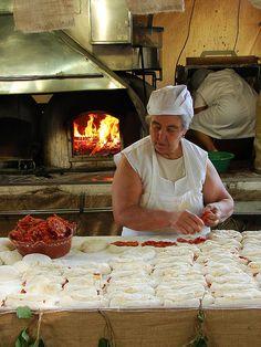 Bread with chorizo - Portugal
