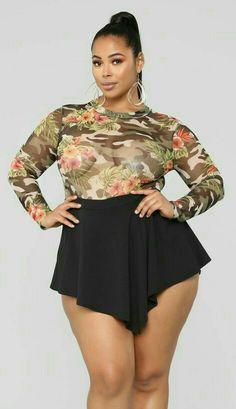 Javier Alberto Big Girl Fashion, Curvy Fashion, Plus Size Fashion, Womens Fashion, Exotic Women, Full Figure Fashion, Sexy Wife, Full Figured Women, Plus Size Model