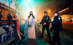 View Intervention from Jesus is my Homeboy by David LaChapelle on artnet. Browse upcoming and past auction lots by David LaChapelle. David Lachapelle, Ellen Von Unwerth, Steven Meisel, Tim Walker, Warhol, Madonna, Tableaux Vivants, Thing 1, Portraits