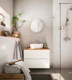 Less is more in this bathroom sanctuary.