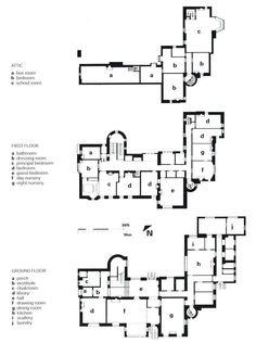 Hill House, Helensburgh Scotland (1902-04) | Charles Rennie Mackintosh