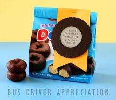 Bus Drive Appreciation Gifts