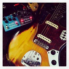 .@wataru373   Fender 65 Jaguar with ambient sound!! #Fender #Strymon   Webstagram