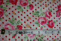 CARNIVAL Fabric Fat Quarter Cotton Craft Quilting BRIGHT Packed FLOWERS
