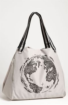 Eco tote - created from recycled water bottles