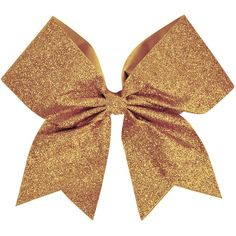 Chassé Glitter Performance Hair Bow (20 BRL) ❤ liked on Polyvore featuring accessories, bows and cheer