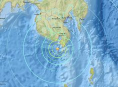 """A 6.8 earthquake has struck south off the island of Mindanao, triggering a warning of """"hazardous tsunami waves"""" for the coastline of islands in the Philippines, according to the US Geological Survey and the Pacific Tsunami Warning Center. The..."""