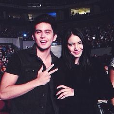 Nadine Lustre and James Reid - Hedi The 1975 Concert, James Reid, Nadine Lustre, How To Be Likeable, Friends Day, Celebs, Celebrities, Best Couple, Man Crush