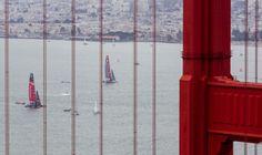 Luna Rossa: prima regata delle finali della Louis Vuitton Cup contro Emirates Team New Zealand | BLU : BLU