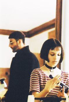 LEON | Luc Besson.  Such a young Natalie Portman. www.focalglasses.com Best Vision in The World!