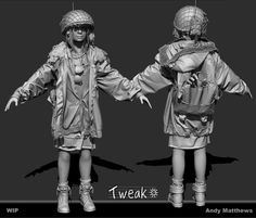 http://www.zbrushcentral.com/showthread.php?187494-Tweak-WIP-Character
