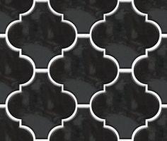 Arabesque Moroccan Lantern Tile - Imported from Italy - Anaheim, CA Lantern Tile, Floor Lanterns, Mosaic Wall, Mosaic Tiles, Wall Tiles, Arabesque Tile, Black Lantern, Lantern Designs, Italian Tiles