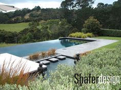 Having a pool sounds awesome especially if you are working with the best backyard pool landscaping ideas there is. How you design a proper backyard with a pool matters. Infinity Pools, Infinity Pool Backyard, Swimming Pool Designs, Swimming Pools, Lap Pools, Indoor Pools, Hillside Pool, Country Pool, Automatic Pool Cover