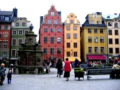 Old Town City - Stockholm