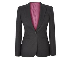 Render dignity & confidence to your profession with a stylish Graceful #Flannel #Blazer.