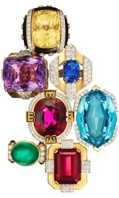 David Webb Ring Collection