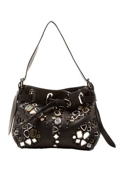 Le Bulga Embellished Leather Bag b7e174c63c985