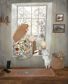 Winter Illustration, Illustration Art, Home Safes, I Wish I Had, April Showers, Nook, My Best Friend, Illustrators, Illusions