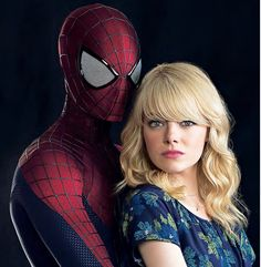 Gwen and Spiderman(Peter Parker)