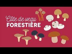 La côte de veau forestière - Les carnets de Julie - YouTube
