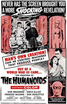 The Humanoids - 1962 - Movie Poster