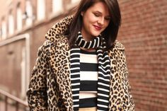 Stripes & leopard.