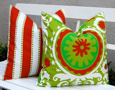 Christmas Pillows Holiday Pillows Accent by FestiveHomeDecor