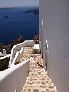 A dreamy view of the Aegean Sea from Mykonos.