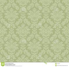 Baroque venetian wallpaper stock vector. Image of flourishes - 9152284