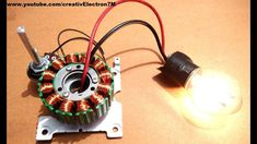 How to rewire an old washing machine motor to generate free power Diy Generator, Homemade Generator, Solar Panel Kits, Solar Panels, Diy Electronics, Electronics Projects, Renewable Energy, Solar Energy, Washing Machine Motor