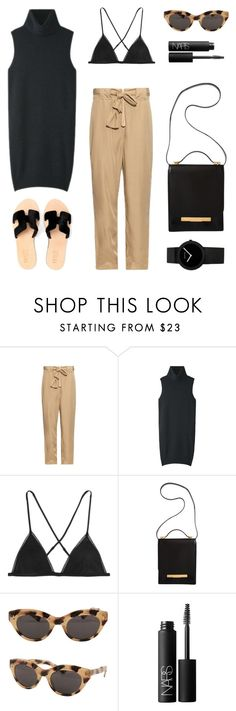 """Black and Khaki"" by fashionlandscape on Polyvore"