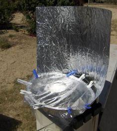 Aluminum Roasting Pan Solar Cooker - Solar Cooking