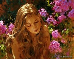 "Photo from album ""Richard Johnson ( Ричард Джонсон )"" on Yandex. Princess Aesthetic, Classical Art, Renaissance Art, Beautiful Paintings, Aesthetic Art, Female Art, Art Inspo, Art Girl, Character Art"