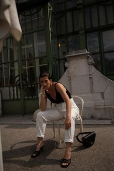 An Extraordinary Summer // Edited Pre-Fall 2020 Collection — VIENNA WEDEKIND Fall Bags, Breath In Breath Out, Vienna, Black Cotton, Cool Outfits, The Past, Zara, Bodysuit, Summer