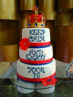 London cake. British cake